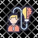 Mental Ability Creative Icon