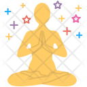 Mental Concentration Meditation Icon