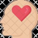Mental Health Profile Health Care Icon