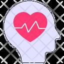 Mental Health Human Health Romance Icon