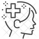 Self Quarantine Self Care Mental Health Icon