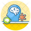 Mental Health Brain Health Mental Fitness Icon