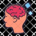Brain Chemical Mental Icon