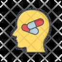 Mental Health Pill Remedy Icon