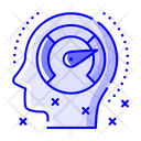 Mental Performance Artificial Intelligence Cognitive Performance Icon