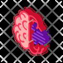 Brain Head Psychology Icon