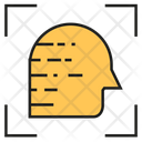 Mental Scan Head Check Up Icon