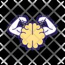 Mental Willpower Determination Icon