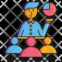 Mentorship Boss Teamleader Icon
