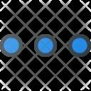 Menu Horizontal Interface Icon
