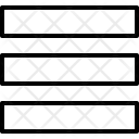 Menu List Index Icon