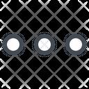 Menu Control Options Icon