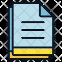 Multiple File Menu Icon
