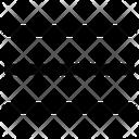 Menu Hamburger Lines Icon