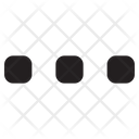 Menu Single Bar Menu Options Icon