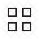 Menu Square Menu User Interface Icon