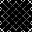 Menu List Grid Icon