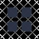Menu Apps Grid Icon