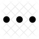 Menu Dots Option Icon