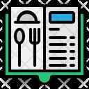 Menu Restaurant Food Icon