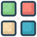 Menu Apps Grid Icon