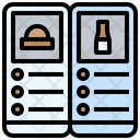 Menu Recipes File Icon