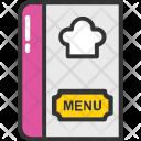 Menu Card Restaurant Icon
