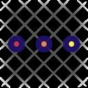 Menu Dot More Icon