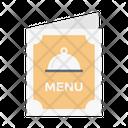 Menu Restaurant Hotel Icon