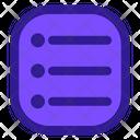 Menu Application Website Icon