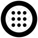Circle More Triple Icon