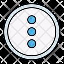 Menu Option Button Icon