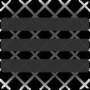 Lines List Menu Icon
