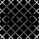 Menu Circle Horizontal Icon