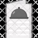 Menu Cuisine Restaurant Icon