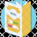Menu Food Book Icon
