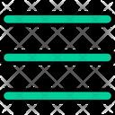 Menu Options Bars Icon