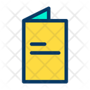 Card Food Book Icon
