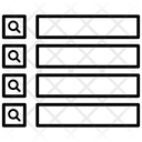 Menu Bars List Layout Icon