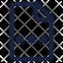 Menu File Icon