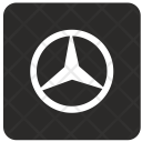 Mercedes sign Icon