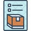 Inventory Merchandise Storage Icon
