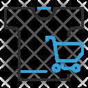 Merchandise  Cart Icon