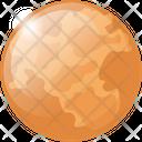 Mercury Planet Space Icon