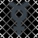 Mercury Zodiac Astrological Icon