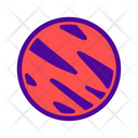 Planet Astronomy Science Icon