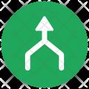 Merge Arrow Icon