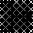 Arrow Merge Join Icon