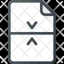 Merge Combine Paper Icon