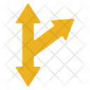Merge And Divide Icon